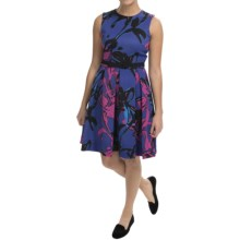 Taylor Dress Scuba Dress - Sleeveless (For Women) in Twilight Mulberry - Closeouts