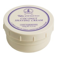 Taylor of Old Bond Street Coconut Shaving Cream Bowl - 150g in Asst - Closeouts