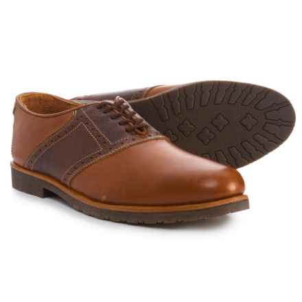 T.B. Phelps Denver Saddle Oxford Shoes - Leather (For Men) in Tan - Closeouts