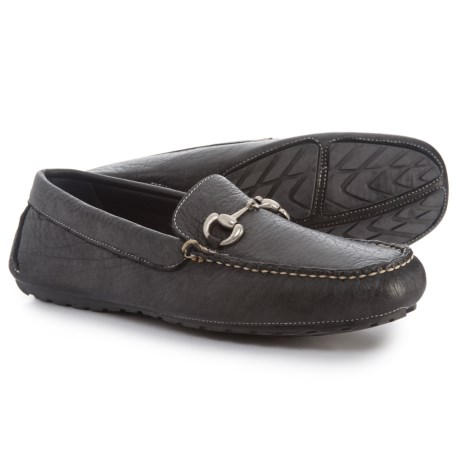 T.B. Phelps Laramie Bit Driver Loafers - Leather (For Men) in Black