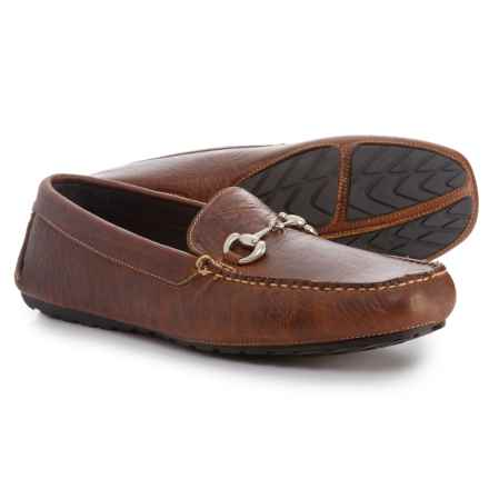 T.B. Phelps Laramie Bit Driver Loafers - Leather (For Men) in Brown - Closeouts
