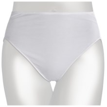 TC Intimates Edge Cotton Panties - Hi-Cut Briefs (For Women) in White - Closeouts
