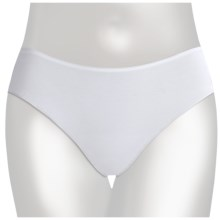 TC Intimates Edge Cotton Underwear - Hipster Briefs (For Women) in White - Closeouts
