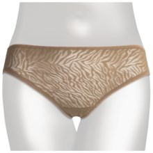 TC Intimates Edge Lace Tanga Underwear - Briefs (For Women) in Sable - Closeouts