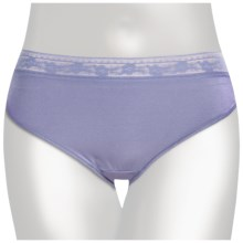 TC Intimates Edge Lace-Trim Underwear - Hipster Briefs (For Women) in Persian Violet - Closeouts