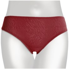 Tc Intimates Edge Lace Underwear - Hipster Brief (For Women) in Holiday Red - Closeouts