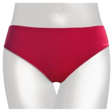 TC Intimates Edge Microfiber Underwear - Hipster Briefs (For Women) in Holiday Red - Closeouts