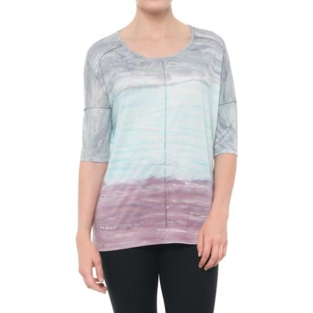 45f499102f643 Clearance. Te Verde Oversized Tie-Dye T-Shirt - Short Sleeve (For Women)