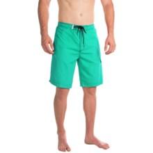 Teal Cove Alex Bright Swim Trunks (For Men) in Aqua - Closeouts