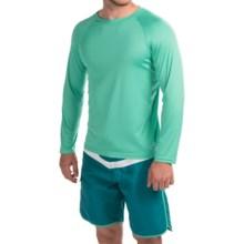Teal Cove Raglan Rash Guard - UPF 20+, Long Sleeve (For Men) in Aqua - Closeouts