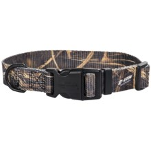 "Team Realtree 3/4"" Adjustable Camo Dog Collar - 14-20"" in Max4 - Closeouts"
