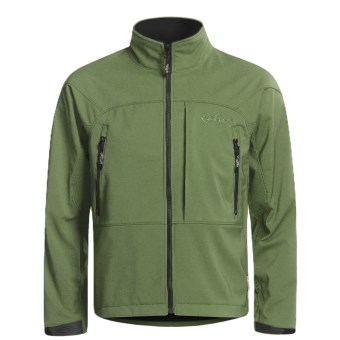 Team RealTree Podium Windstopper® Jacket - Ripstop (For Men) in Pesto Green