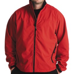 Team RealTree Soft Shell Jacketl - Windstopper® (For Men) in Red