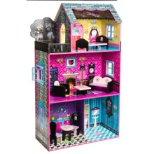 Teamson Haunted Monster Doll House and Furniture in See Image - Closeouts