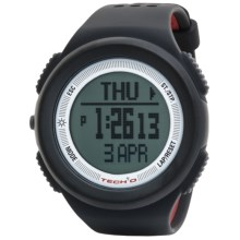 Tech4o Traileader One Watch - Altimeter, Compass, Barometer in Black - Closeouts