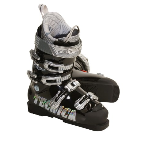Tecnica 2009/2010 Diablo Pro Alpine Ski Boots (For Men) in Black