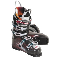Tecnica 2010/2011 Inferno Blaze Ski Boots - All Mountain Liner (For Men and Women) in Smoke/Black