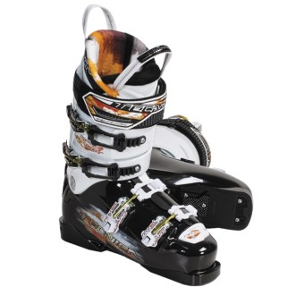 Tecnica 2010/2011 Inferno Heat Alpine Ski Boots - (For Men and Women) in Black/White