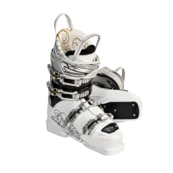 Tecnica 2010/2011 Viva Inferno Fling Ski Boots - All Mountain (For Women) in White/Black