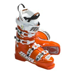 Tecnica 2011  Diablo Inferno 130 Alpine Ski Boots (For Men and Women) in Orange