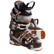 Tecnica 2011/2012 Bushwacker 110 Air Shell Alpine Ski Boots (For Men) in Copper/Black - Closeouts