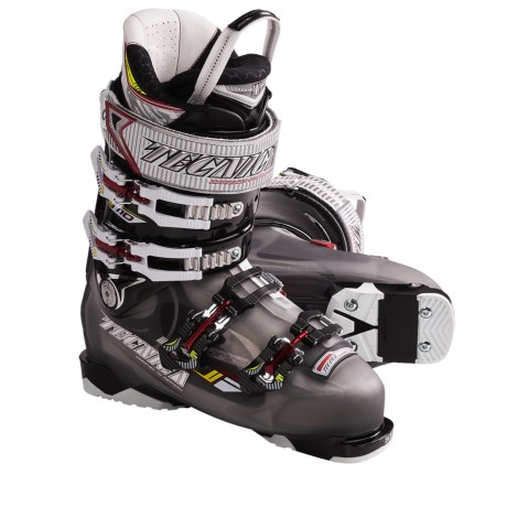 Tecnica 2011/2012 Demon 110 Air Shell Alpine Ski Boots (For Men) in Smoke/Black