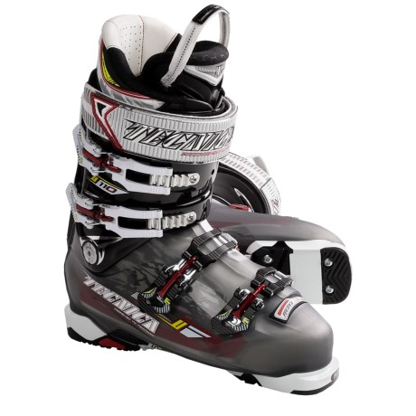 Tecnica 2011/2012 Demon 110 Alpine Ski Boots (For Men) in Smoke
