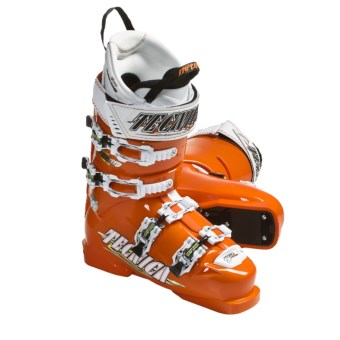 Tecnica 2011/2012 Diablo Inferno 110 Alpine Ski Boots (For Men and Women) in Orange