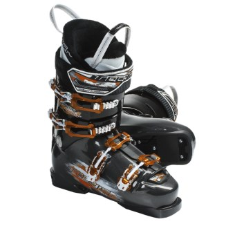 Tecnica 2011/2012 Inferno Heat Alpine Ski Boots (For Men and Women) in Antracite/Black