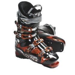 Tecnica 2011/2012 Phoenix 12 Alpine Ski Boots - Air Shell (For Men and Women) in Translucent Orange