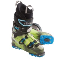 Tecnica 2012/2013 Cochise Pro Light Ski Boots - Dynafit Compatible (For Men) in Green - Closeouts