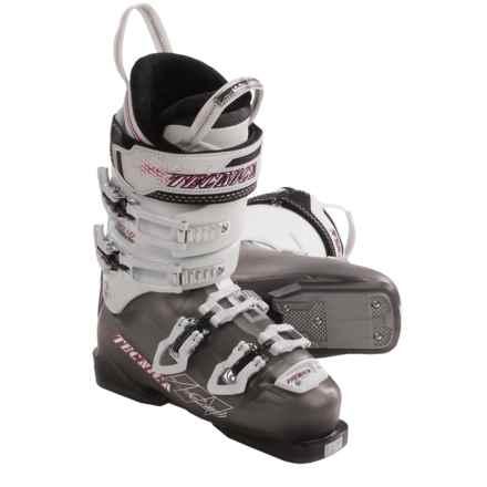 Tecnica 2012/2013 Inferno Crush Ski Boots (For Women) in Smoke - Closeouts