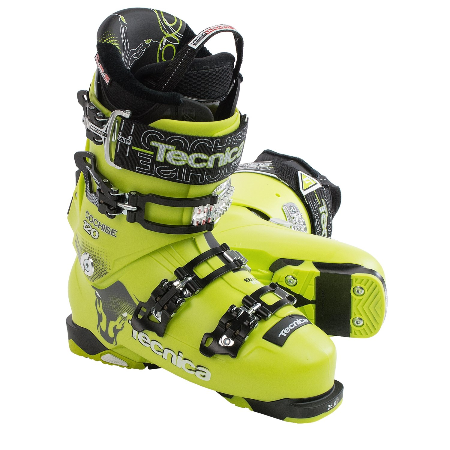 Tecnica 2015 16 Cochise 120 Ski Boots For Men And Women