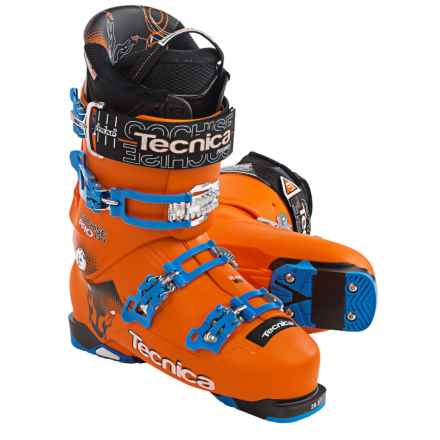 Tecnica 2015/16 Cochise 130 Pro Ski Boots (For Men and Women) in Orange - Closeouts