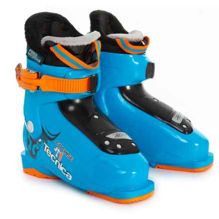 Tecnica 2015/2016 JT 1 Cochise Ski Boots (For Kids) in Blue - Closeouts
