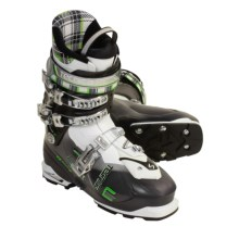 Tecnica Agent AT Ski Boots (For Men and Women) in White/Tr Black - Closeouts