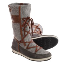 Tecnica Avenue II Felt Moon Boot® (For Women) in Grey - Closeouts