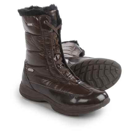 Tecnica Catrine III TCY WS Boots - Waterproof, Insulated (For Women) in Marrone - Closeouts