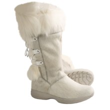Tecnica Creek Fur II Winter Boots - Insulated (For Women) in White - Closeouts