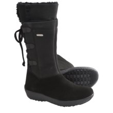 Tecnica Creek Shearling Winter Boots (For Women) in Black - Closeouts