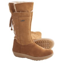 Tecnica Creek Shearling Winter Boots (For Women) in Ochre - Closeouts