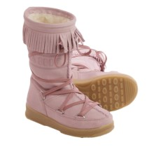 Tecnica Dakota Jr. Moon Boot® (For Boys and Girls) in Pink - Closeouts