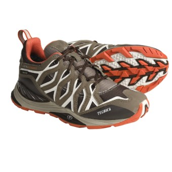 Tecnica Dragonfly Gore-Tex® Low Trail Shoes - Waterproof, Lightweight (For Women) in Dark Brown