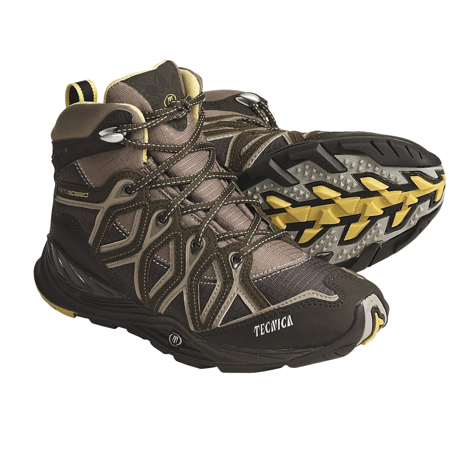 Tecnica Dragonfly Lightweight Hiking Boots - Mid (For Women) in Earth