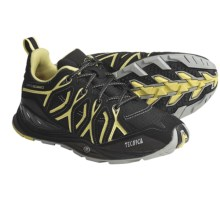 Tecnica Dragonfly Lightweight Trail Shoes - Low (For Women) in Black/Lime - Closeouts