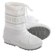 Tecnica Pod Jr. Moon Boot® (For Little and Big Kids) in White - Closeouts