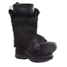 Tecnica Polar II Fur Winter Boots - Insulated (For Women) in Black - Closeouts