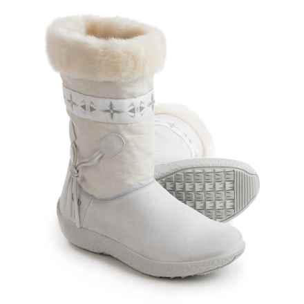 Tecnica Skandia Sport Mid Boots - Suede (For Women) in Bianco - Closeouts