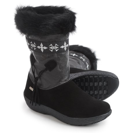 Tecnica Skandia Sport Mid Boots - Suede (For Women) in Nero