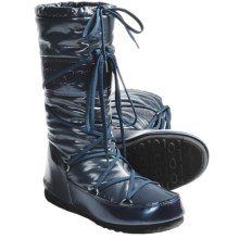 Tecnica Soft II Moon Boots (For Women) in Petroleum - Closeouts